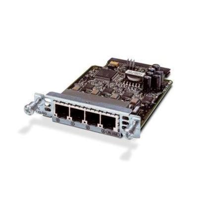 Cisco VIC3-4FXS/DID= stem netwerk modules