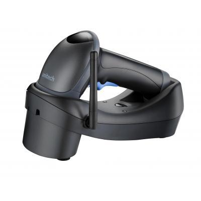 Unitech barcode scanner: MS840 - Zwart, Blauw