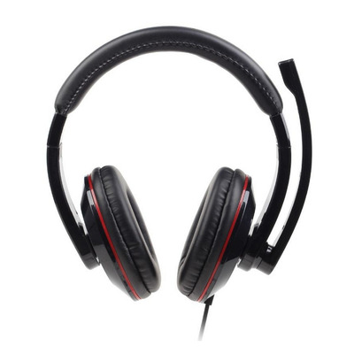 Gembird 130-20000 Hz, 32 Ohm, 105 dB, 30 mm, USB 3.0, 2 m, 200 g Headset - Zwart