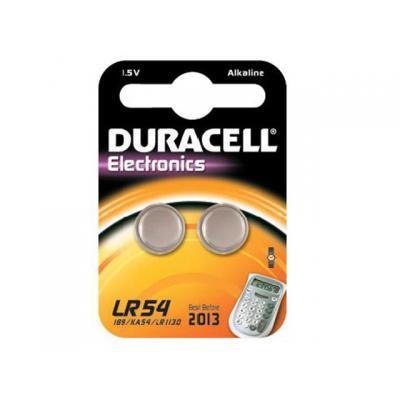 Duracell batterij: LR54