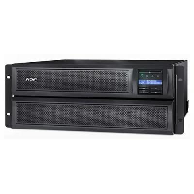 Apc UPS: Smart-UPS 2200 VA extended runtime - Zwart, Roestvrijstaal