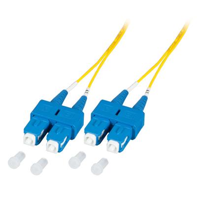EFB Elektronik O2513.0,5-1.2 Fiber optic kabel - Geel