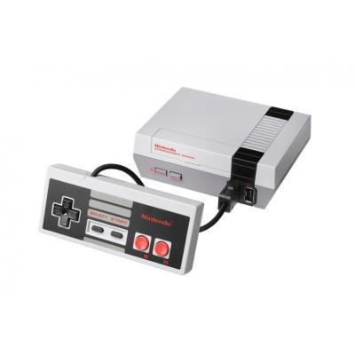 Nintendo spelcomputer: Classic Mini NES  - Grijs