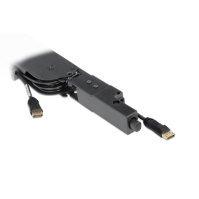 Extron Retractor Series/2 XL DisplayPort - Zwart