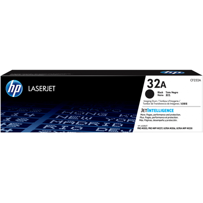 Hp drum: 32A Original LaserJet Imaging Drum - Zwart