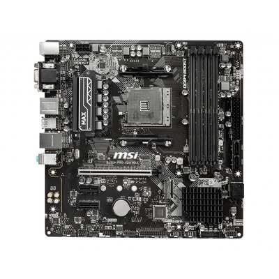 MSI ATX, AM4, B450, 4x DDR4, 4x SATA3, M.2, 2x PCI-E x16, Gigabit Realtek 8111H, USB 2.0, USB 3.2, HDMI, DVI-D, VGA, .....