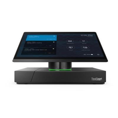 Lenovo all-in-one pc: ThinkSmart HUB 500 - Zwart