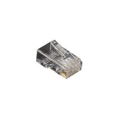 Black Box CAT5e Modular Plug, RJ-45, 100-Pack Kabel connector - Transparant