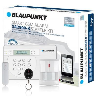 Blaupunkt : LCD, Draadloos, 868 MHz, Bewegingsmelder, Deur-/raamcontact, Afstandsbediening, 600mAh Ni-MH, 96 dB, 209 x .....