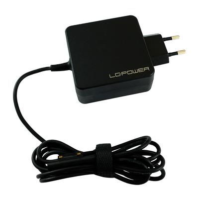 LC-Power 60 W, 110-240 V, 50/60 Hz, 1.5 A, 88%, 71 x 71 x 31 mm Netvoeding - Zwart