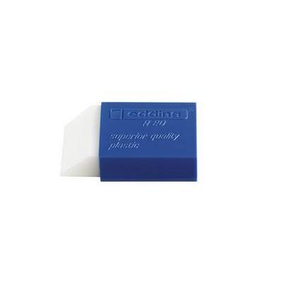 Edding gummen: R 20 - Blauw, Wit