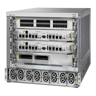 Cisco netwerkchassis: ASR 9904 - Grijs