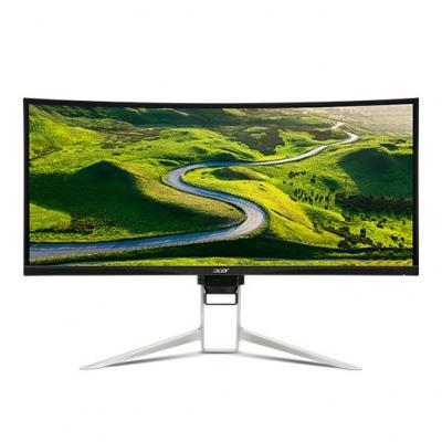 Acer monitor: XR XR342CK - Zwart, Zilver