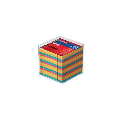 Herlitz note cube box Big9 Box tr. 650 sh. Zelfklevend notitiepapier - Multi kleuren
