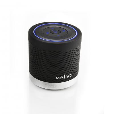 Veho draagbare luidspreker: 360° M4 Bluetooth Wireless Speaker, 2x 2.2W, 600mAh Li-Ion (max. 6h), Bluetooth A2DP / .....