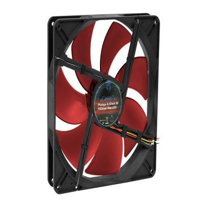 Phobya Computerkast onderdeel: G-Silent 18 red 700rpm 180x180x32 - Rood