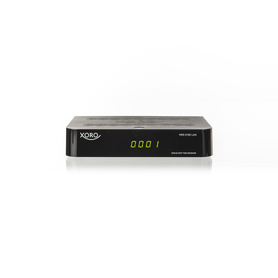 Xoro HRS 9192 Ontvanger - Zwart