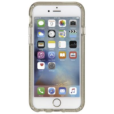 Speck apparatuurtas: iPhone 6 / 6s Plus CandyShell (Clear / Clear Gold Glitter)