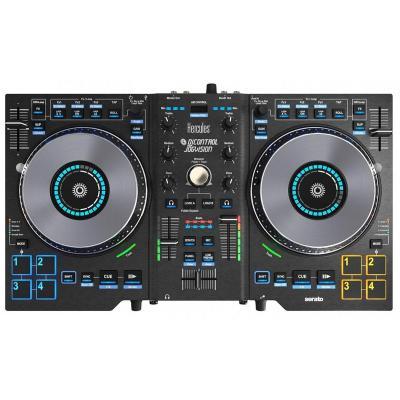 Hercules dj mixer: Jogvision - Zwart