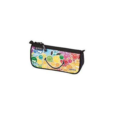 Herlitz potlood case: SmileyWorld Rainbow - Veelkleurig