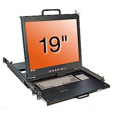 Lindy 21654 Rack console - Zwart