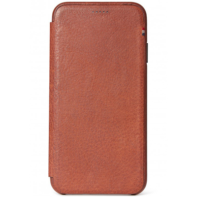 Decoded Leather Slim Wallet iPhone Xs Max - Bruin - Bruin / Brown Mobile phone case