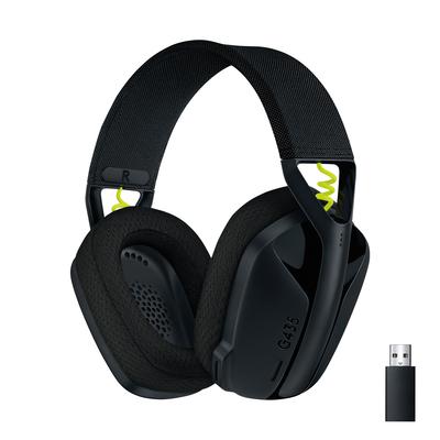 Logitech G G435 Headset - Zwart,Geel