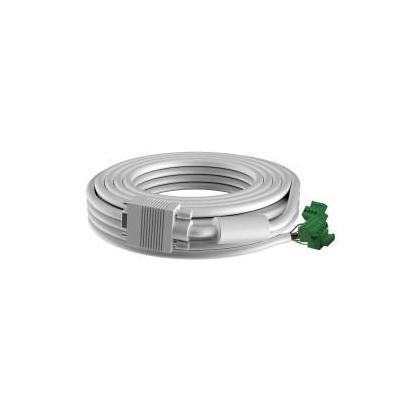 Vision VGA kabel : TC2 15MVGA, 15m, VGA - Wit