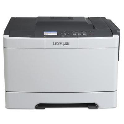 Lexmark laserprinter: CS410dn - Zwart, Cyaan, Magenta, Geel