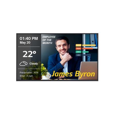 LG 15º, 350 cd/m2, HDMI, USB, RJ45, 55 Public display - Zwart