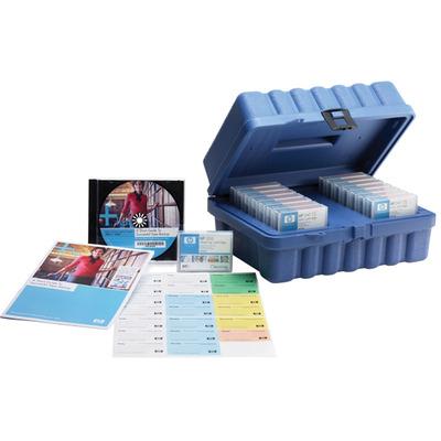 Hewlett Packard Enterprise HP DAT 72 Storage Media Kit Datatape - Blauw