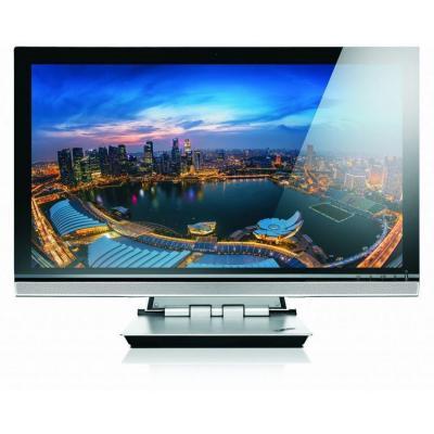 Lenovo monitor: ThinkVision 28 - Zwart, Zilver