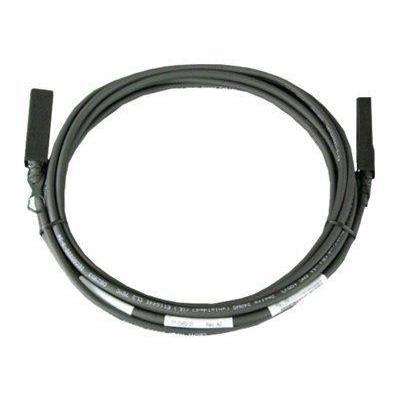 Dell kabel: 5m, 10GbE SFP+ Direct Attach Cables - Kit - Zwart