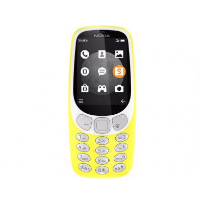 Nokia mobiele telefoon: 3310 3G Geel