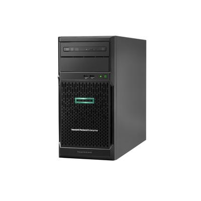 Hewlett Packard Enterprise ProLiant ML30 Gen10 E-2134 1P 16GB 1x500W PS Server - Zwart