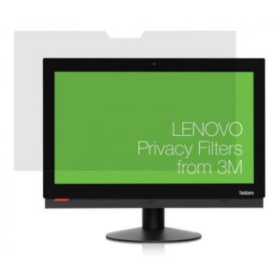 "Lenovo schermfilter: 54.61 cm (21.5"") , 70g, 532x335x0.55mm - Transparant"