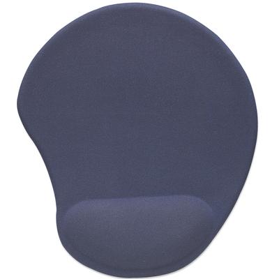 Manhattan Ergonomic Gel Mouse Pad, Ergonomic Gel Improves comfort and mouse performance Muismat - Blauw
