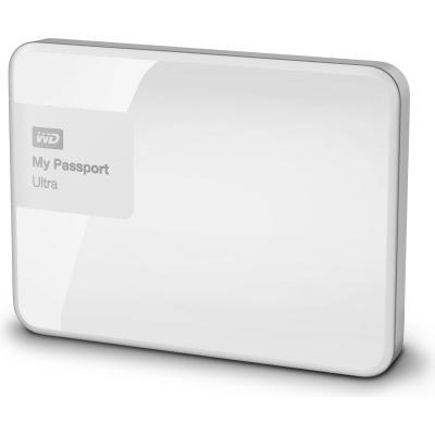 Western digital externe harde schijf: My Passport Ultra - Wit