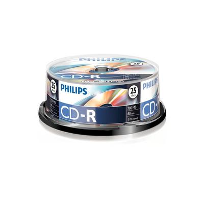 Philips De uitvinder van de technologieën achter en DVD. 700 MB/80 min. 52x CD