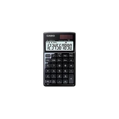 Casio calculator: SL-1000TW - Zwart