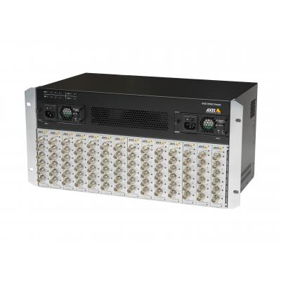 Axis netwerkchassis: Q7920 - Zwart, Grijs