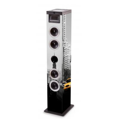 Bigben interactive home stereo set: DRAADLOZE SPEAKER/CD SPELER - Multi kleuren