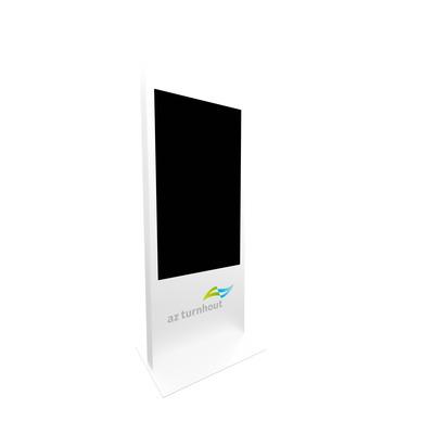 Dekker Industrial Design D.I.D. 55 inch informatiezuil (portrait) - White TV standaard - Wit