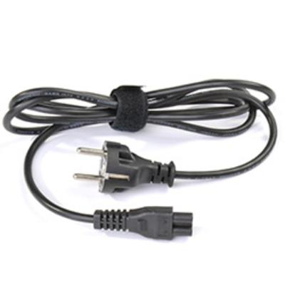 Dynabook 3-pins netsnoer VK 2 m Electriciteitssnoer - Zwart
