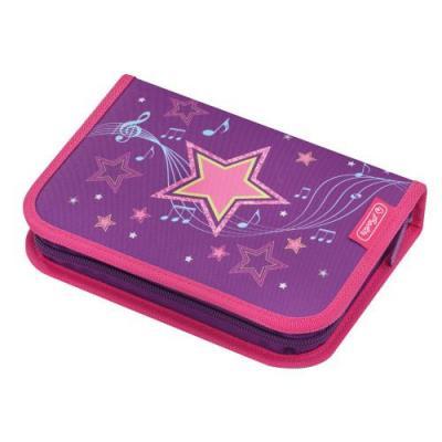 Herlitz potlood case: Melody Star - Multi kleuren