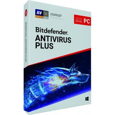Bitdefender Antivirus Plus 2019 (1 Jaar / 1 Device) algemene utilitie