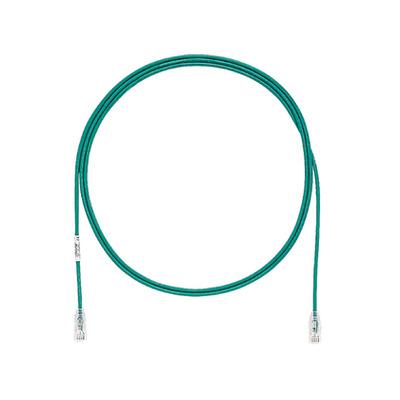 Panduit Modular Plug, U/UTP, Category 6/Class E, 0.5 m Netwerkkabel - Groen