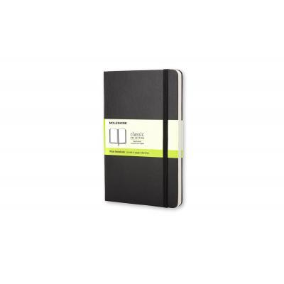 Moleskine schrijfblok: Classic Notebook, Pocket, Plain - Zwart