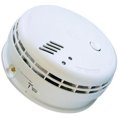 Ei electronics rookmelder: Ei146RF 230V rookmelder met back-up batterij en draadloze koppeling - Wit