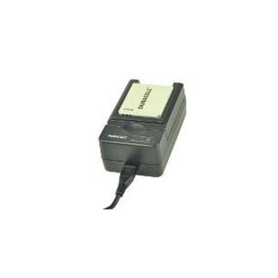 Duracell oplader: USB, 5V, Replacement f/ Canon NB-4L - Zwart